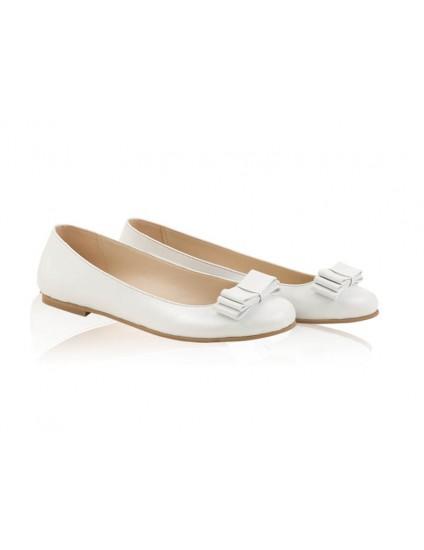 Balerini mireasa N46 White - orice culoare