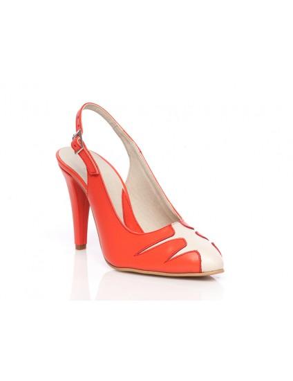 Pantofi piele Elegant Combi Decupat2 - orice culoare