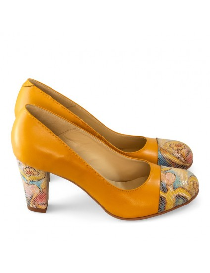 Pantofi Dama D24 Piele Naturala - orice culoare