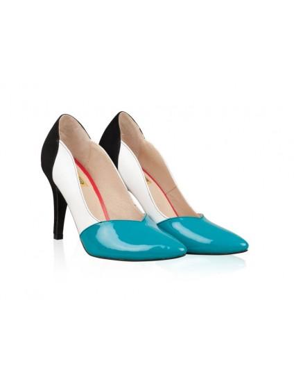 Pantofi Piele Stiletto Duffy - orice culoare