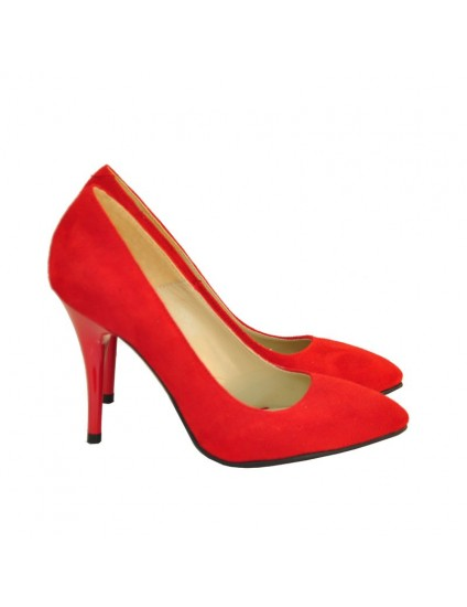 Pantofi Dama D40 Piele Naturala - orice culoare