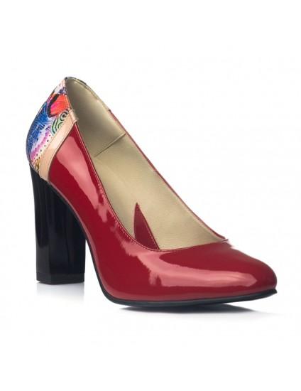 Pantofi Dama Office London Rosu V23 - orice culoare
