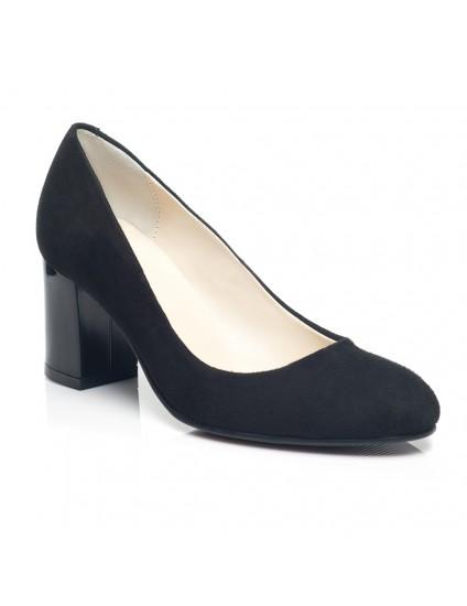 Pantofi Dama Office piele Negru C16