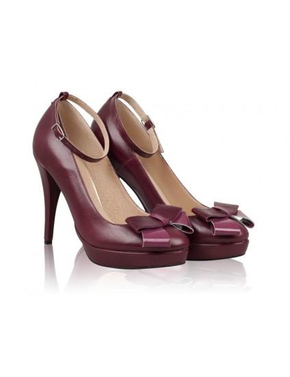 Pantofi Piele naturala N26 - orice culoare
