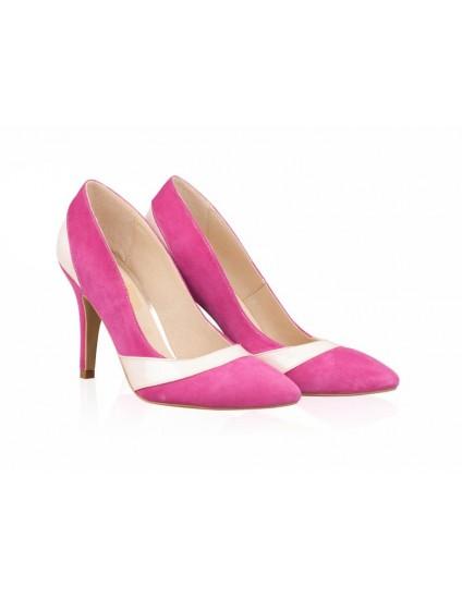 Pantofi Stiletto PIele Duo N70 - orice culoare