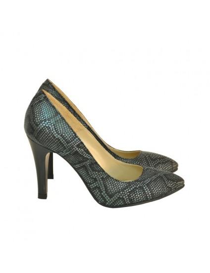 Pantofi Dama Stiletto Snake Inchis D17- orice culoare