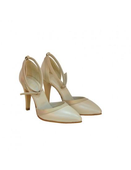 Pantofi Dama D136 Piele Naturala - orice culoare