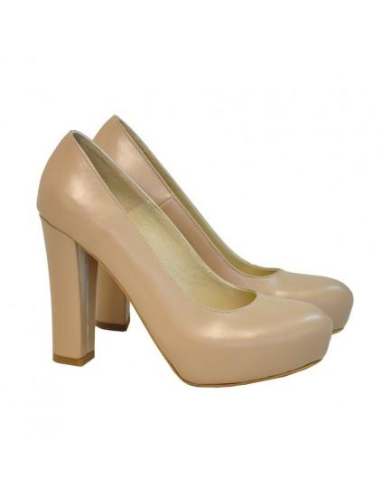 Pantofi Dama D131 Piele Naturala - orice culoare