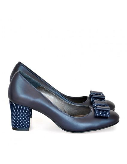 Pantofi Piele Verde Office Bleumarine D20 - orice culoare