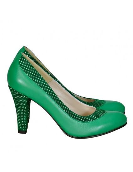 Pantofi Dama D107 Piele Naturala - orice culoare