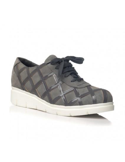 Pantofi piele model gri Oxford V18 - orice culoare