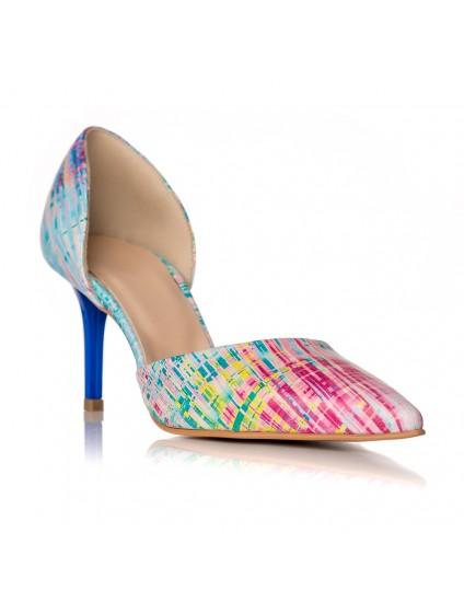 Pantofi Piele Stiletto Pretty Color C37 - orice culoare