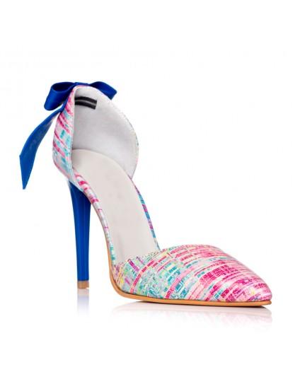 Pantofi Dama Piele Stiletto Luna Multicolor C30 - orice culoare