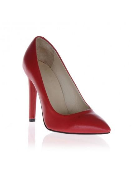 Pantofi  Stiletto Simplu  piele naturala - orice culoare