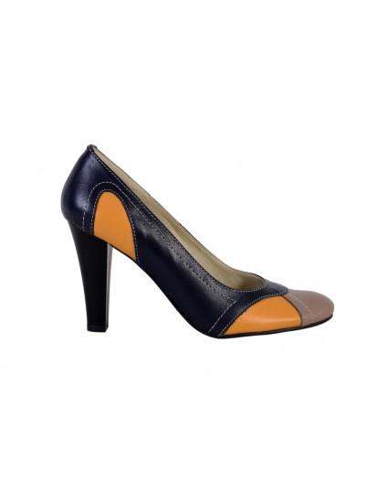 Pantofi piele naturala Madame2, disponibili pe orice culoare