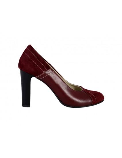 Pantofi piele naturala Full, disponibili pe orice combinatie de culori