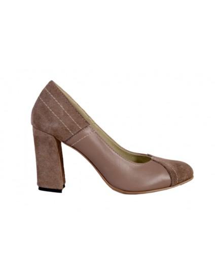 Pantofi Larson piele naturala, disponibilii pe orice culoare