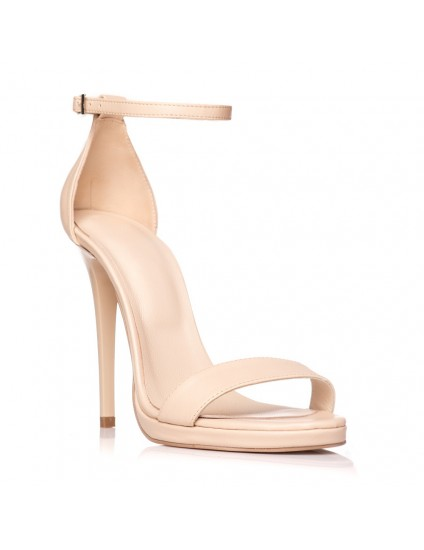 Sandale dama piele nude Marlyn - pe stoc