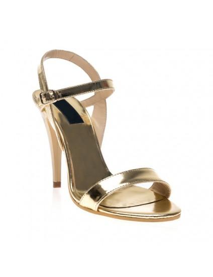 Sandale dama piele auriu Clarice I2 - Orice culoare