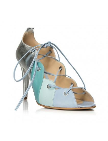 Sandale piele cu Siret F15- orice culoare
