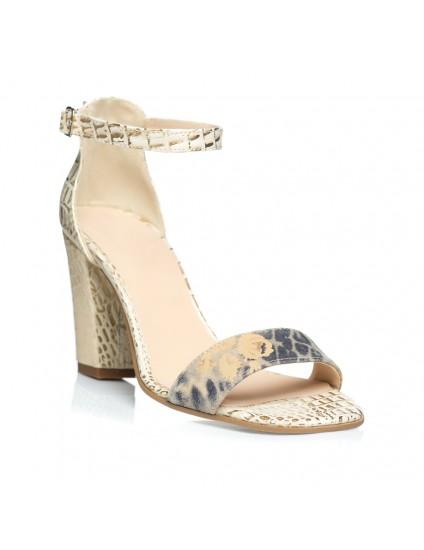 Sandale din Piele Naturala Stylish Combi