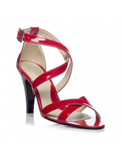 Sandale dama piele office V2 Rosu - orice culoare