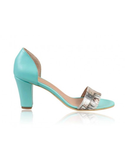 Sandale Piele Style Turcoaz N2 - orice culoare
