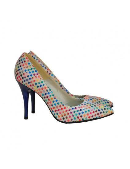 Pantofi Dama D70 Piele Naturala - orice culoare