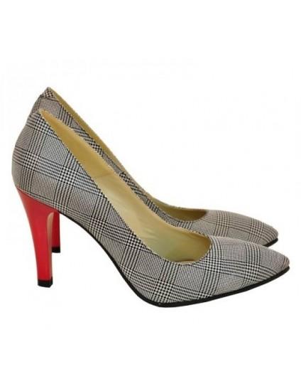 Pantofi Dama Stiletto Carouri D17- orice culoare