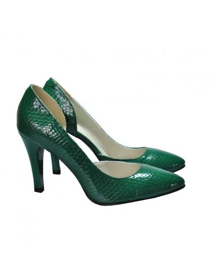 Pantofi Dama D87 Piele Naturala - orice culoare