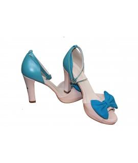 Sandale pictate manual Blue Girls - Orice culoare