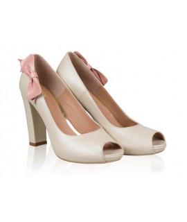 Pantofi mireasa N24 Heaven Pink - orice culoare