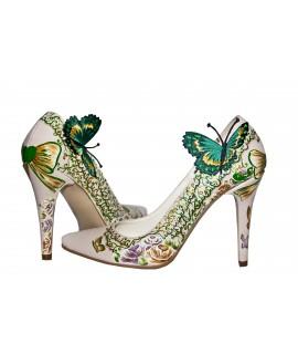 Pantofi pictati manual Beautiful - orice culoare