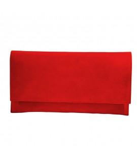 Plic Piele Intoarsa Rosu D1 - orice culoare