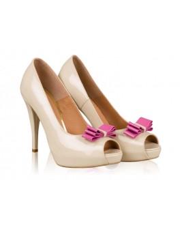 Pantofi mireasa N20 Sweet Pink - orice culoare